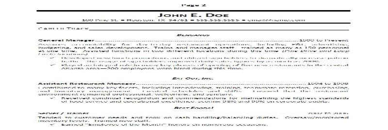 Personal Support Worker Sample Resume